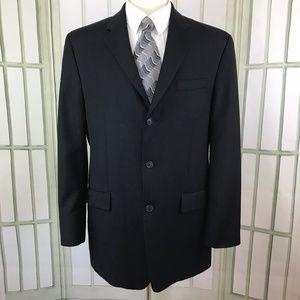 Calvin Klein 3 Button Suit Jacket Navy 42L